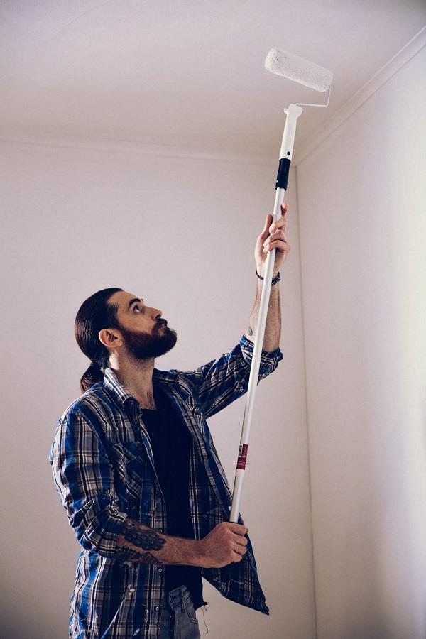 Hur måla tak